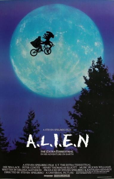 Alien + E.T.