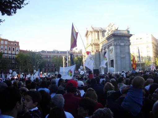 15 Manifestación Puerta de Alcalá