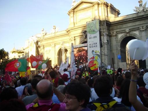 16 Manifestación Puerta de Alcalá