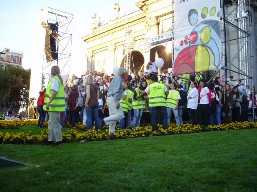 17 Manifestación Puerta de Alcalá