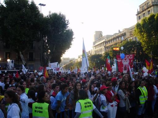 18 Manifestación Puerta de Alcalá
