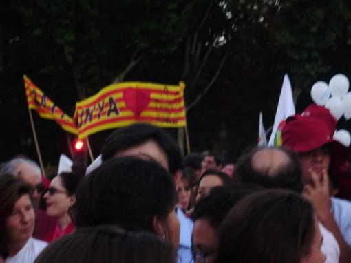 19 Manifestación Puerta de Alcalá - Cataluña