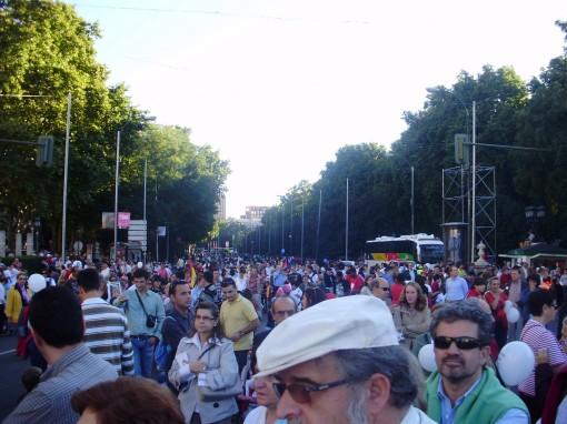 7 Manifestación en Castellana