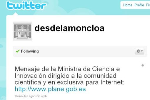 Cristina Garmendia twitter